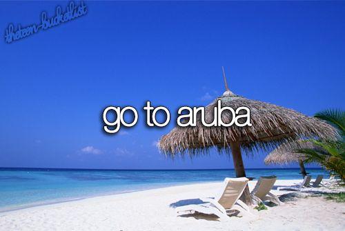 Go to Aruba