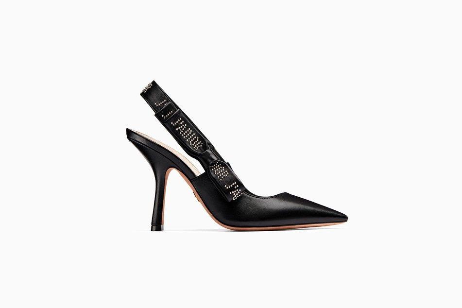 J'Adior high-heeled shoe in black