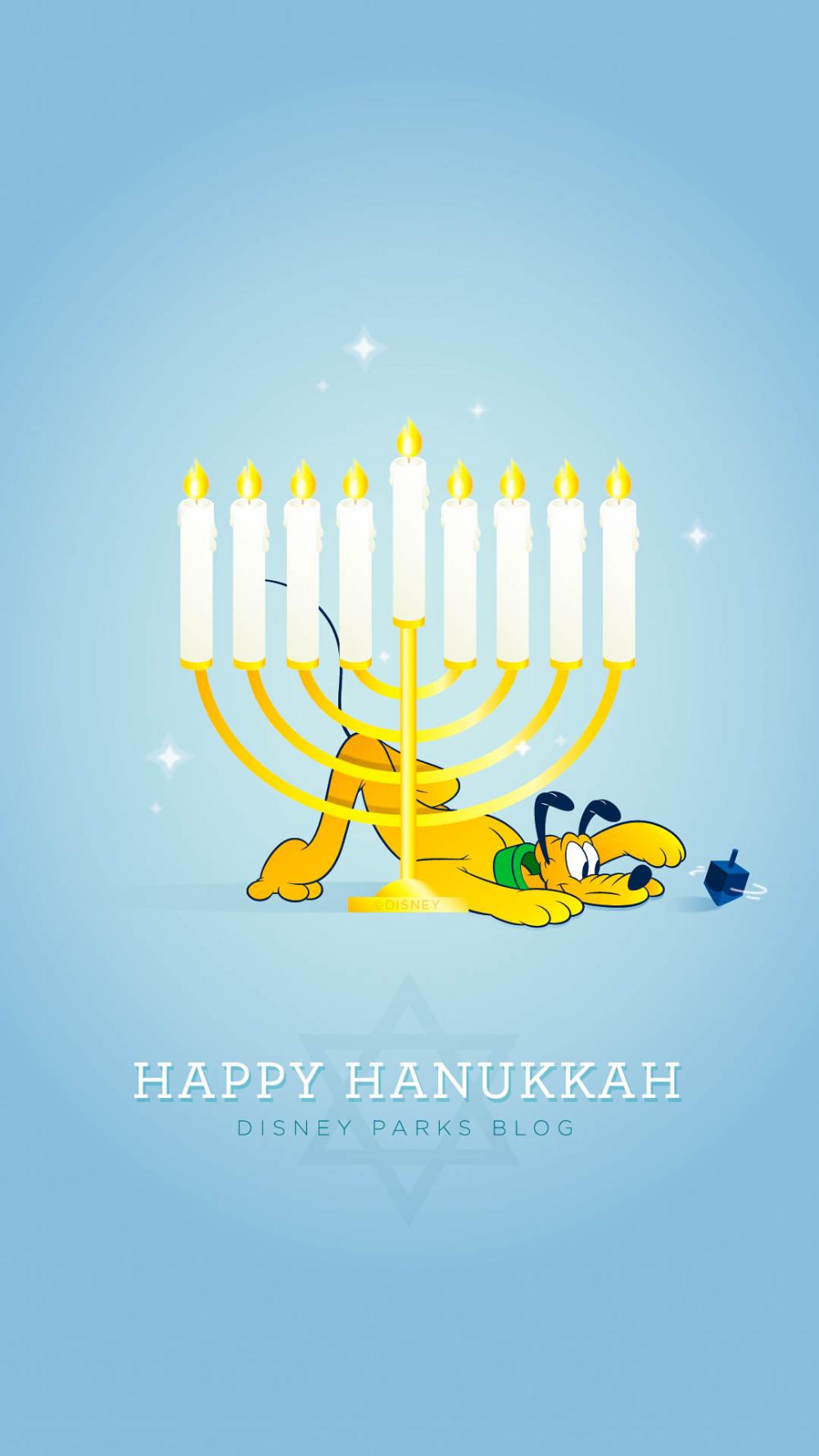 2018 Hanukkah Wallpaper Iphone Android In 2020 Disney Parks Blog Hanukkah Wallpaper
