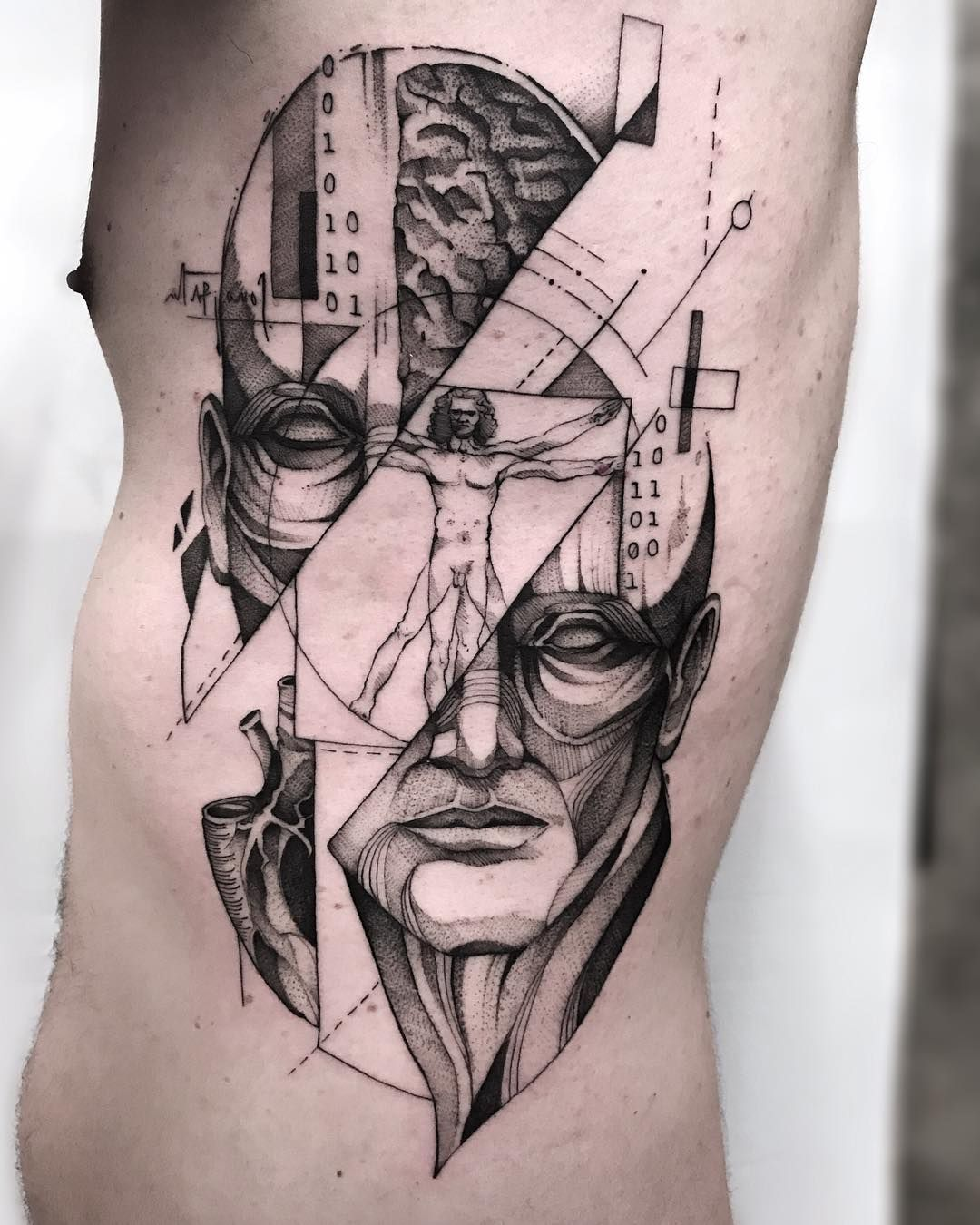 human body diagram tattoo human themed tattoo anatomy tattoo  geometric tattoo  tattoo  human themed tattoo anatomy tattoo