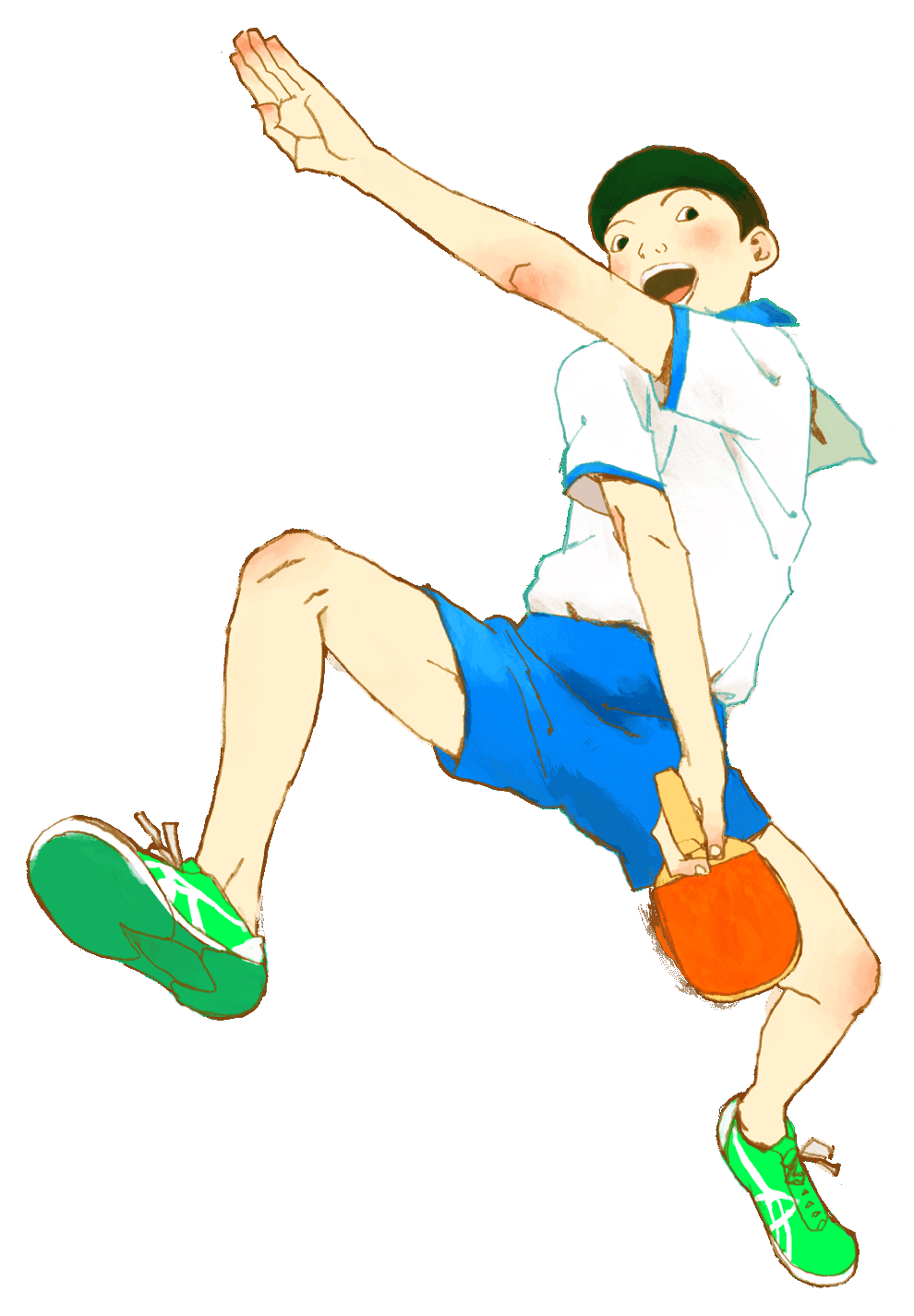 Peco From Ping Pong The Animation Character Design Character Design References Illustration Character Design