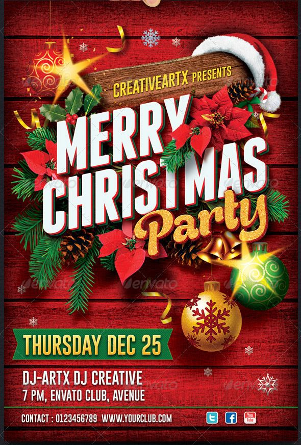 christmas flyer google search graphic design pinterest