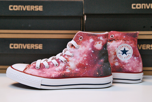 7cb774f00436 space. sky. stars. DESIGN YOUR OWN PRINT ON SNEAKERS at wannashoe ...