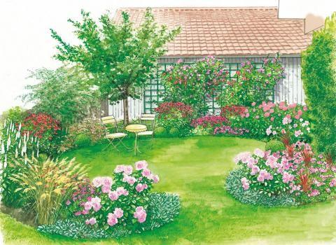 bunter rahmen f r den rasen journal garden. Black Bedroom Furniture Sets. Home Design Ideas