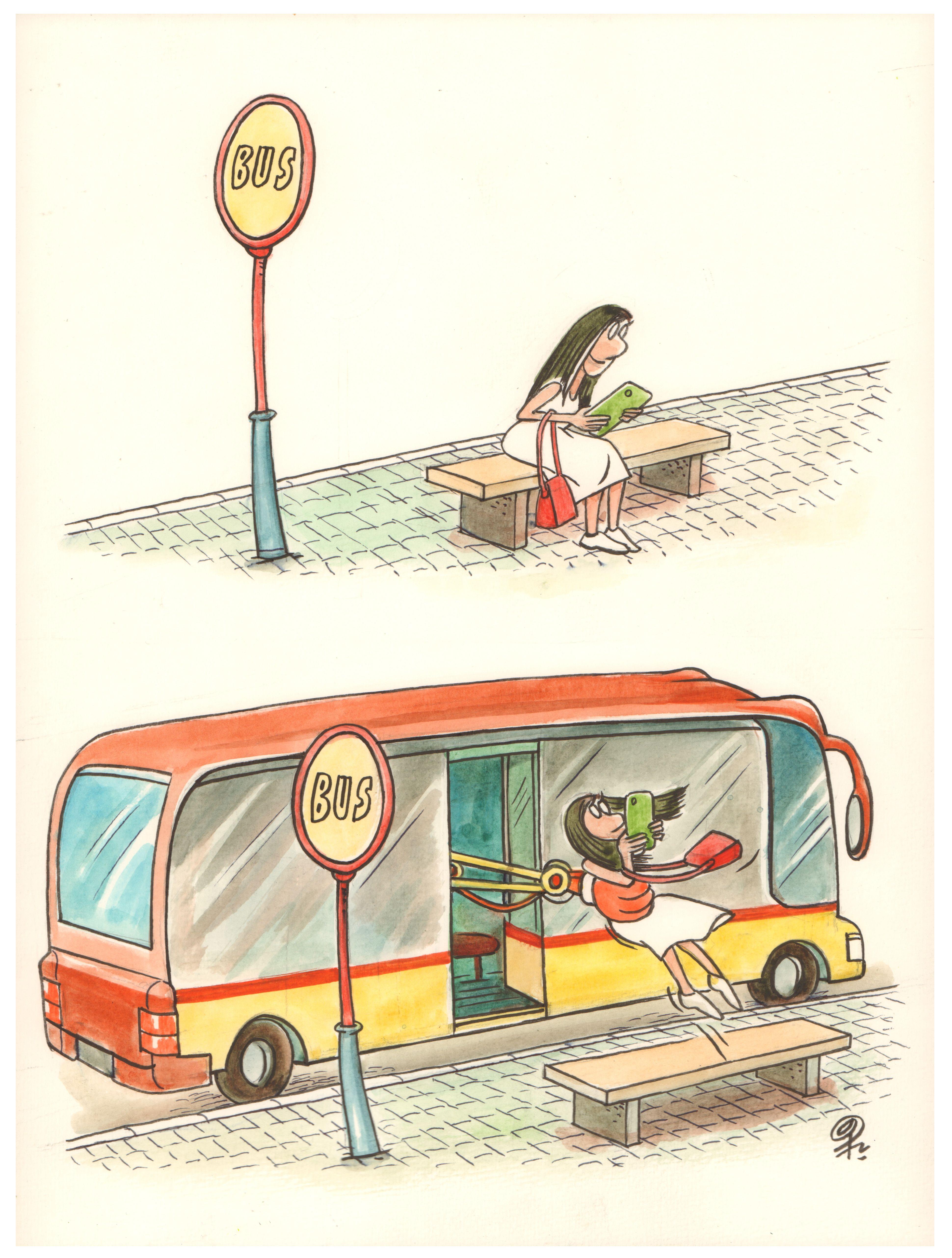 No Title - Global Mobilty Cartoon Contest