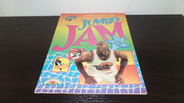 Space Jam Jumpin Jumbo Coloring & Activity Book