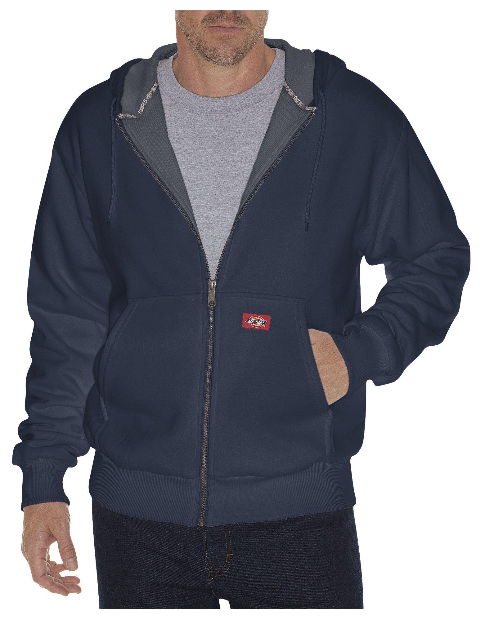 Thermal Lined Hoodies For Men Black Dickies Work Jackets Fleece Hoodie Fleece Jacket [ 2000 x 1563 Pixel ]