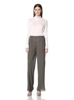 80% OFF Haider Ackermann Women's Zeppelin Flat Front Trouser