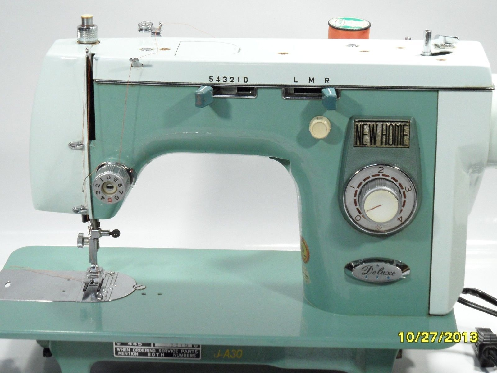 NEW Home Janome 445 Heavy Duty Sewing Machine With Attachments AND Cams |  eBay Japanese Sewing