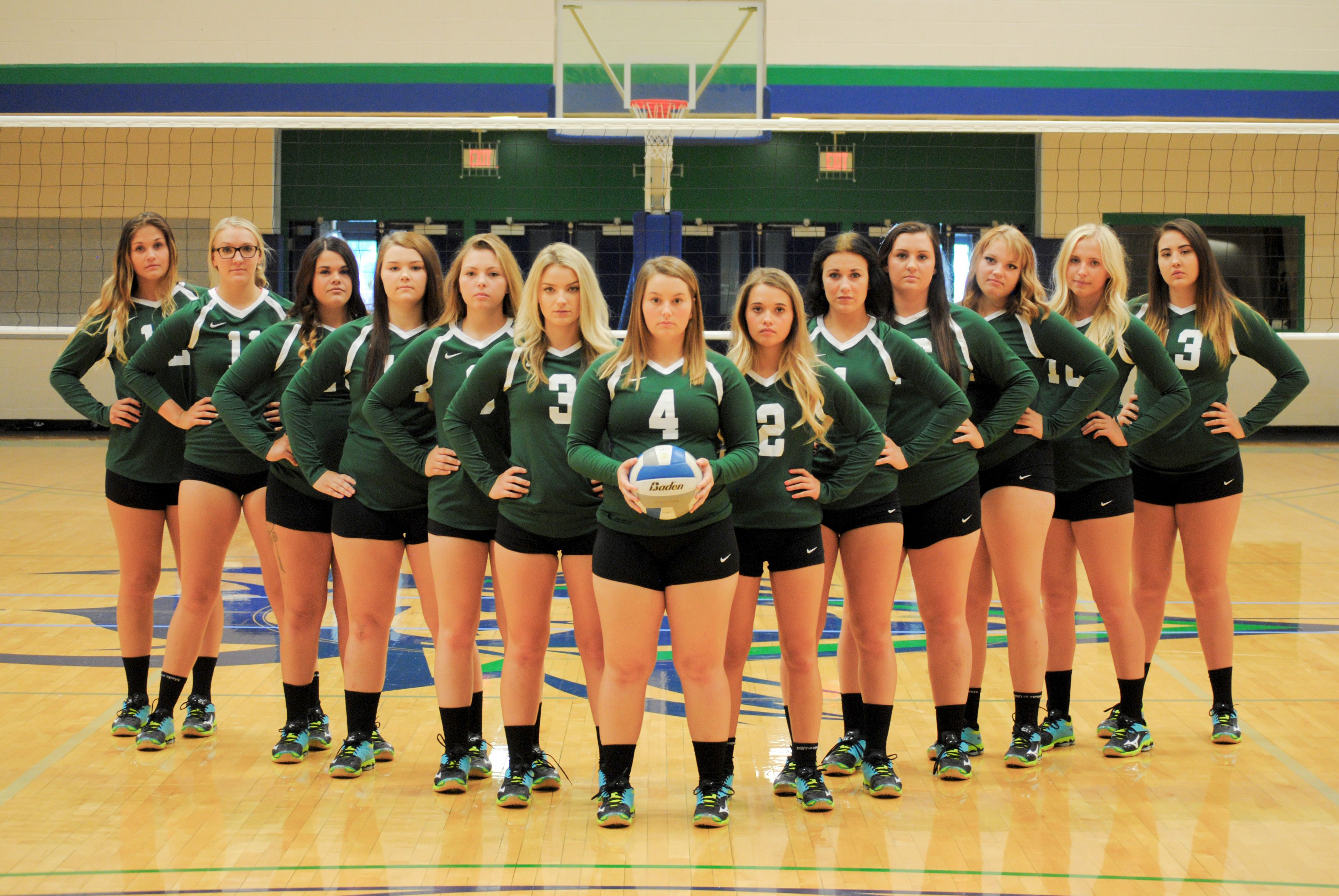 2016 17 Big Bend Community College Women S Volleyball Team Volleyball Team Women Volleyball Volleyball Images