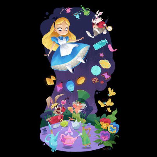Flimflammery In 2019 Alice In Wonderland Disney Art Disney