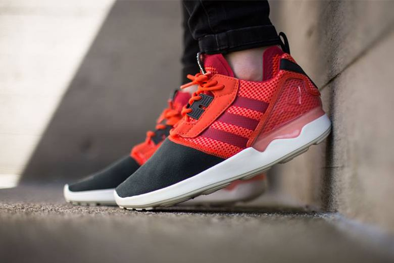 Adidas Originals Zx 8000 Boost Semi Solar Red Nike Free Shoes Nike Shoes Cheap Adidas Zx