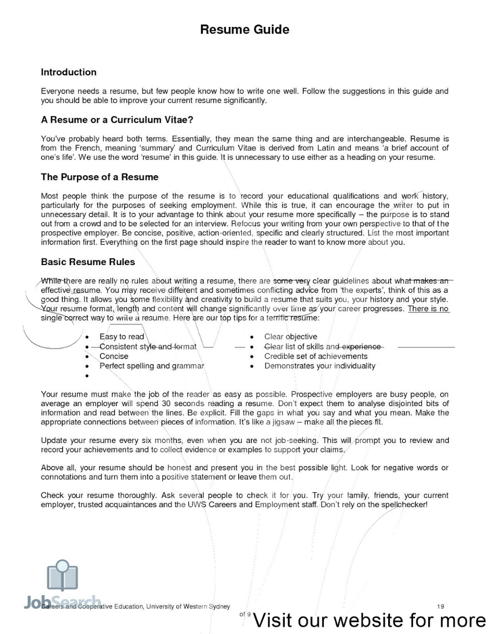 Making Your First Resume 2020 Making Your First Resume