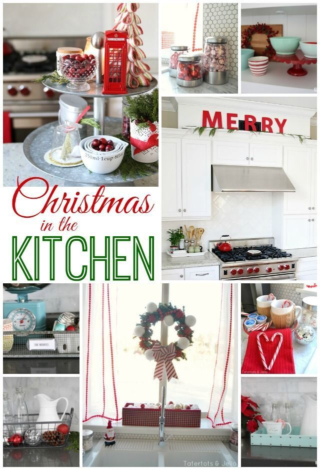 How to decorate your kitchen for Christmas / Christmas-Kitchen-Decor