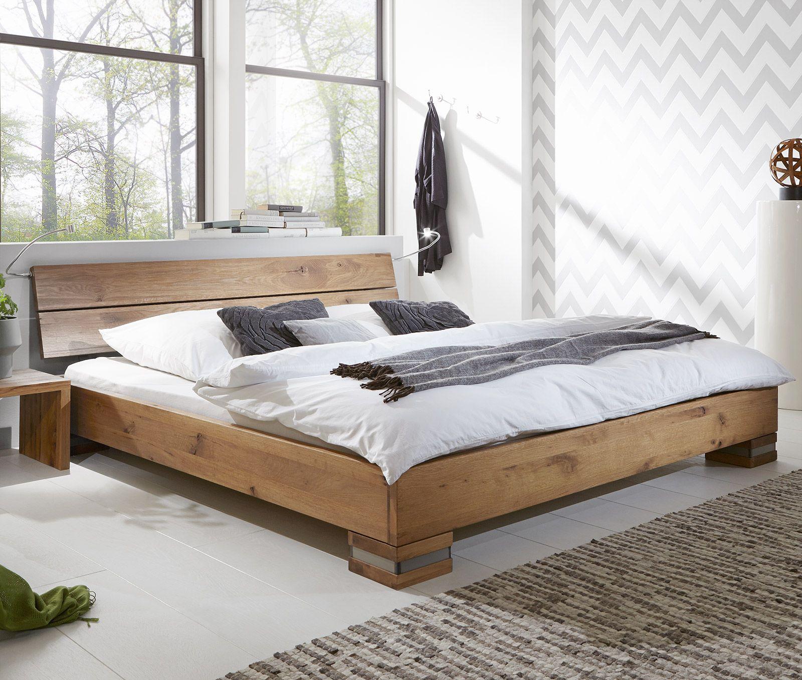 massivholzbett curada in tollem design wildeiche natur futon bedroombed - Futon Bedroom Ideas