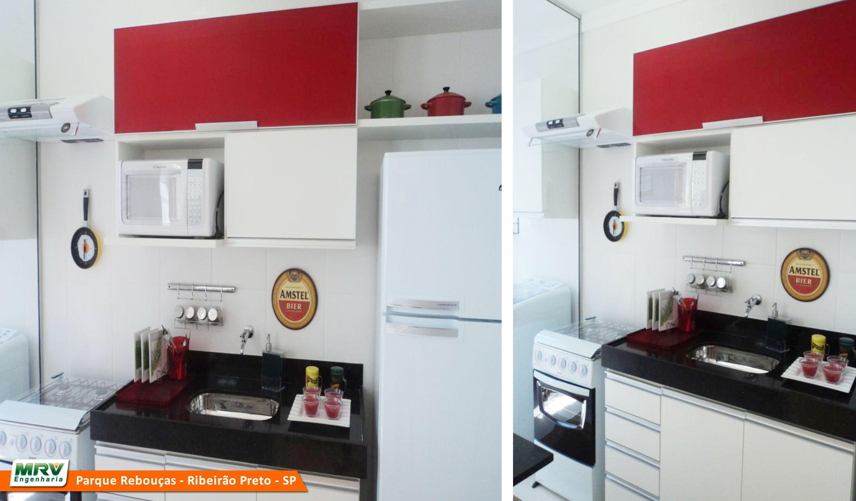 Cozinha Americana Mrv Great Mrv Apartamento Decorado Em Suzano Sp