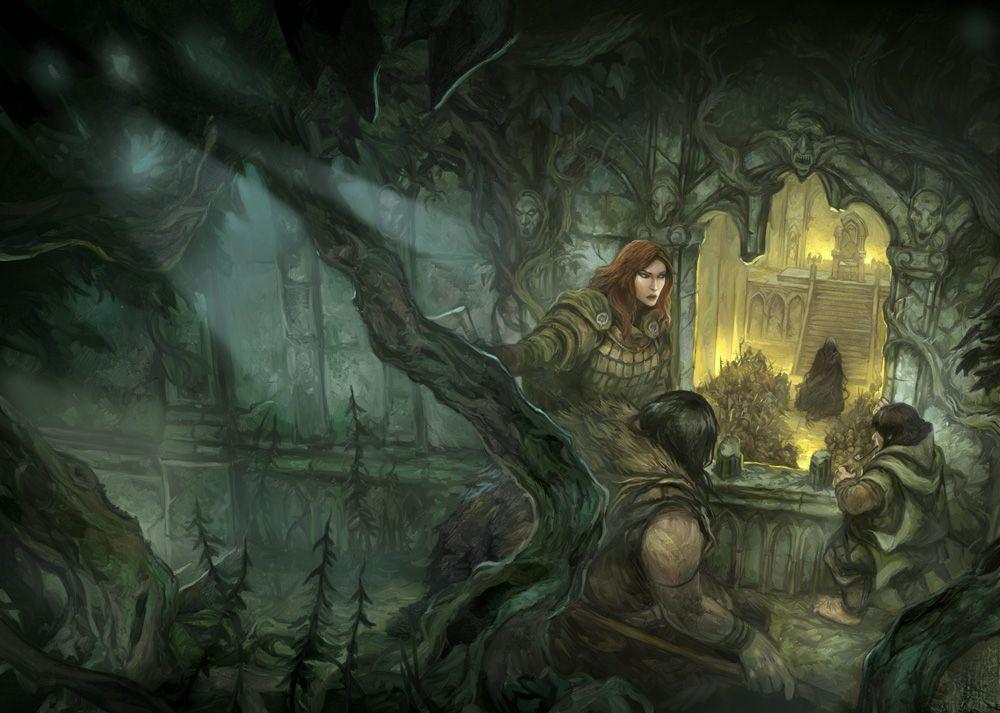 The Darkening of Mirkwood by JonHodgson.deviantart.com on @deviantART