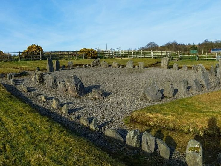 Drumskinny Stone Circle On The Ireland Way Hiking Trail Https Www Worldtrip Blog Com Hiking Trails Discover Amazing Nature