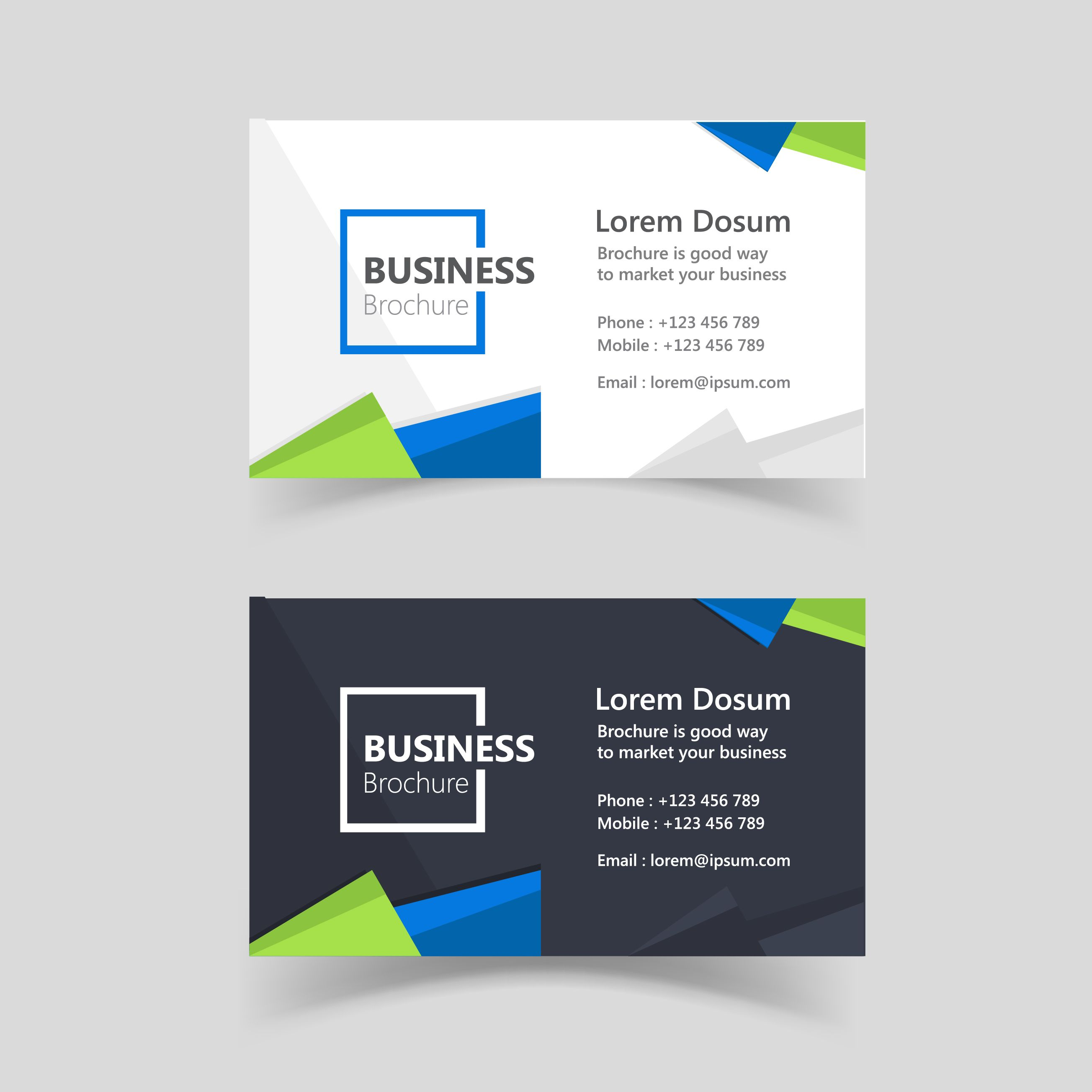 Corporate visiting card design vector free download free vector corporate visiting card design vector free download free vector design graphics download set of 2 corporate visiting card design vectors with blue and colourmoves