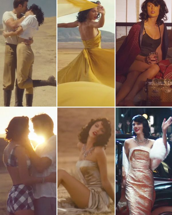 Taylor Swift S Wildest Dreams Outfits See All Of Her Retro Music Video Looks Taylor Swift Music Videos Taylor Swift Outfits Taylor Swift Dress