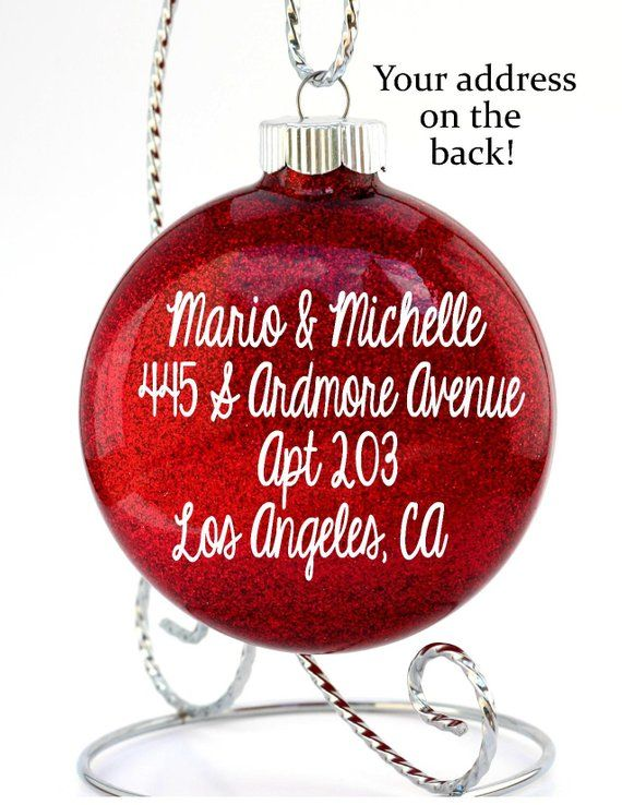 First Apartment Gift Cool Ideas Gl Christmas Ornament For Friends Id
