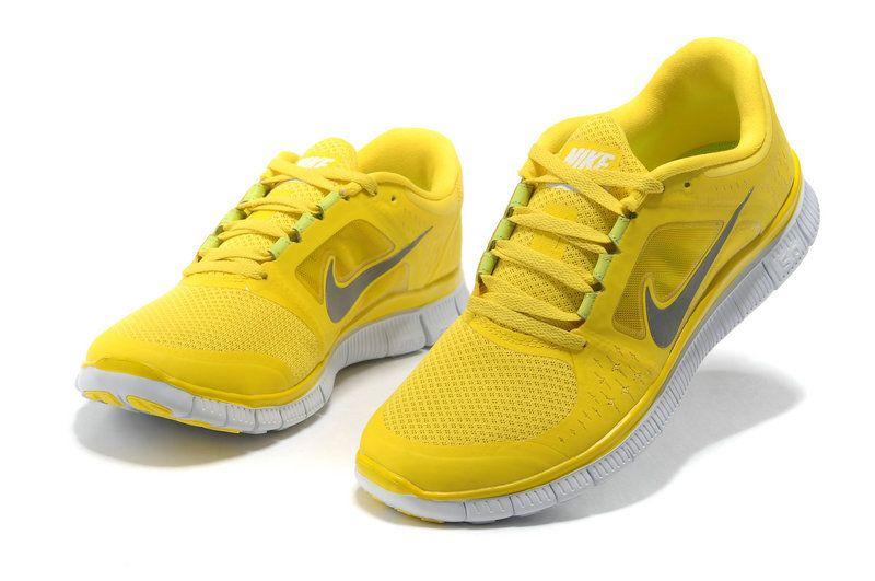 nike free run 3 womens yellow