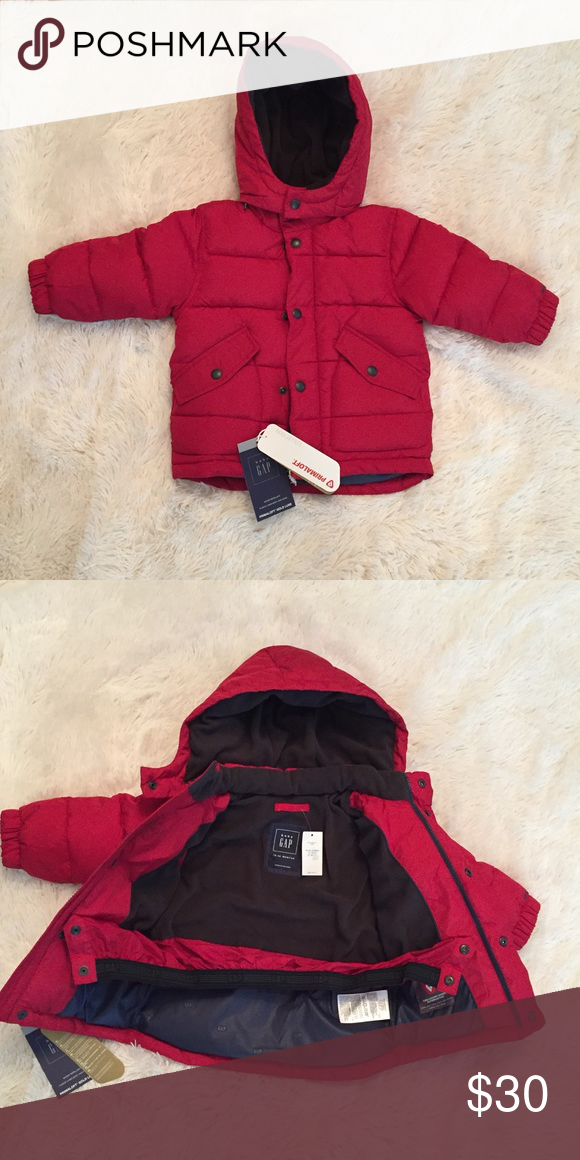 60aa40554f1e Baby Gap Primaloft Gold Luxe down coat Brand new with tags size 18 ...