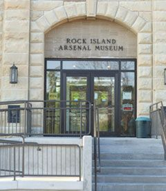 The Army's Second Oldest Museum, the Rock Island Arsenal Museum, has a new website created in conjunction with the RIA Historical Society. Immerse yourself in history and celebrate the heritage of Fort Armstrong, Rock Island Arsenal, and the Quad Cities here on Arsenal Island via its new home, here on the Internet.