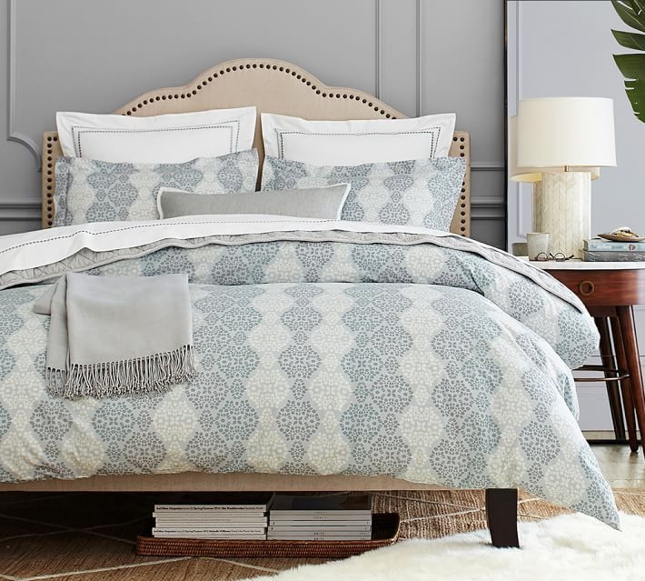duvet organic queen charlie pottery barn blue stylish paisley cover designs amazing sham