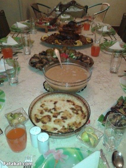 عزومة ثامن يوم رمضان منتدى فتكات Food Foodie Desserts