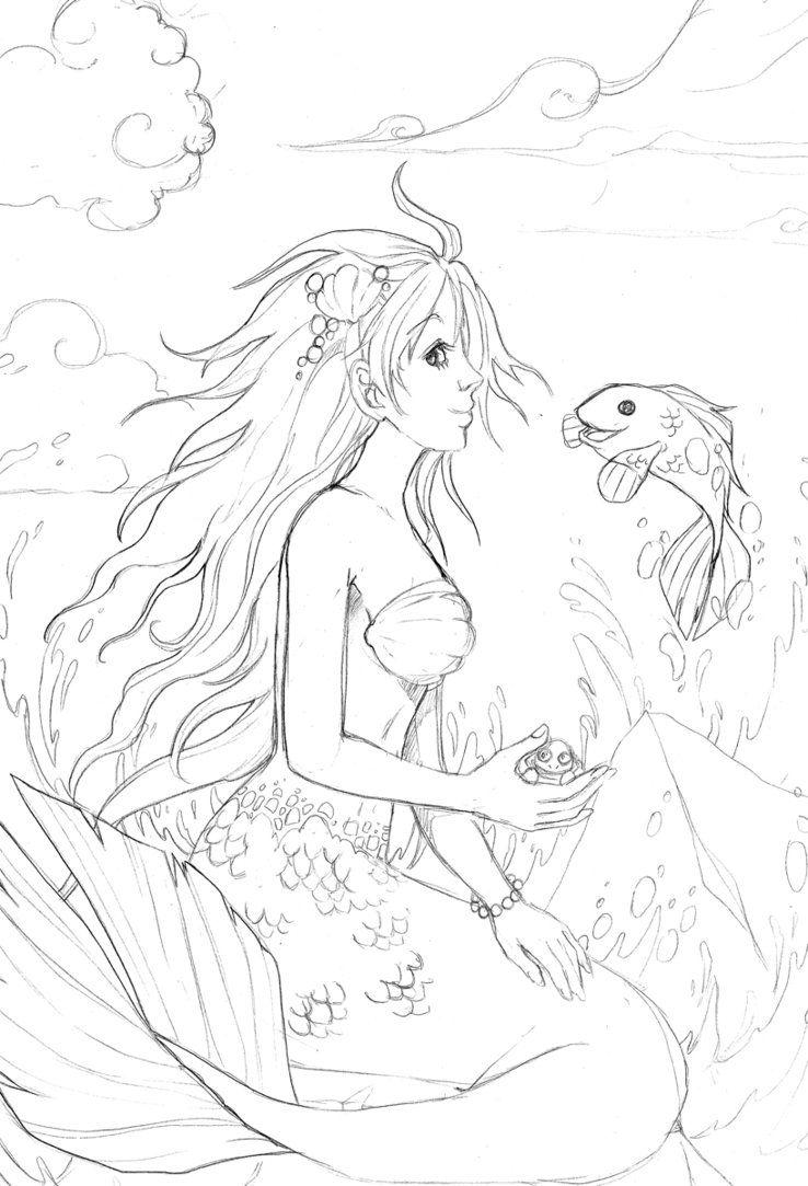 Pin de Patricia Iannone en Diseños - Sirenas | Pinterest | Sellos ...