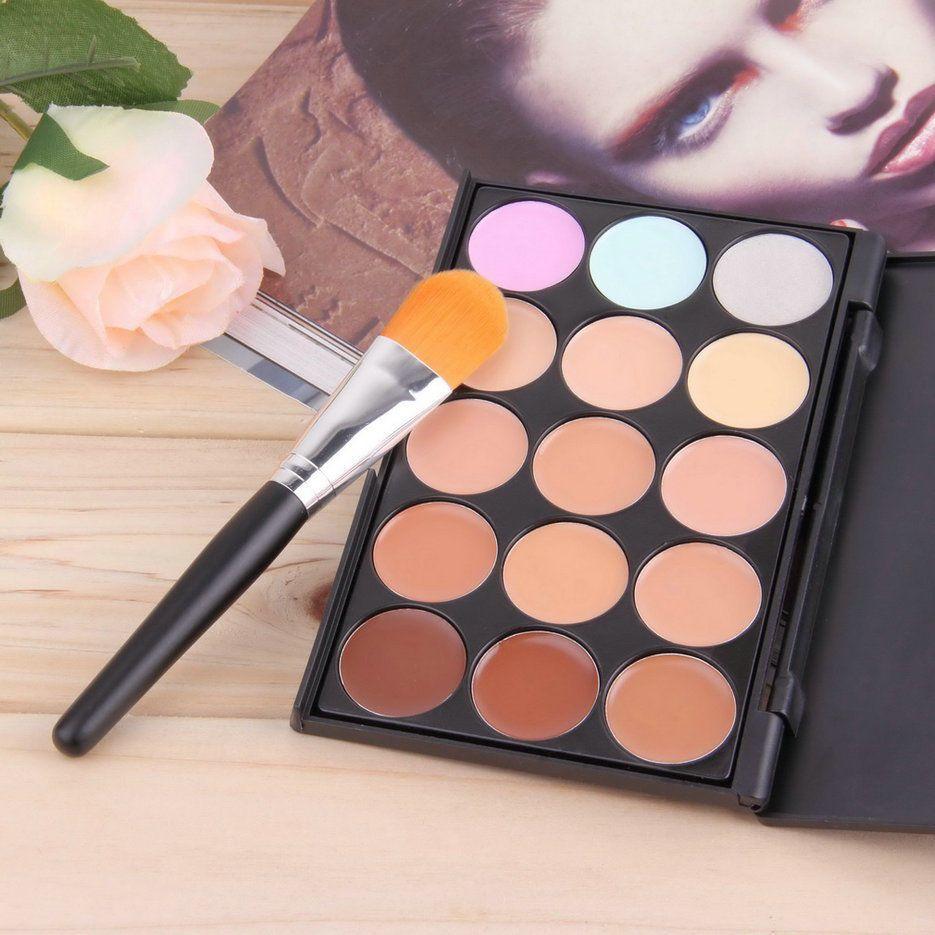 15 Colors Contour Face Cream Makeup Party Concealer