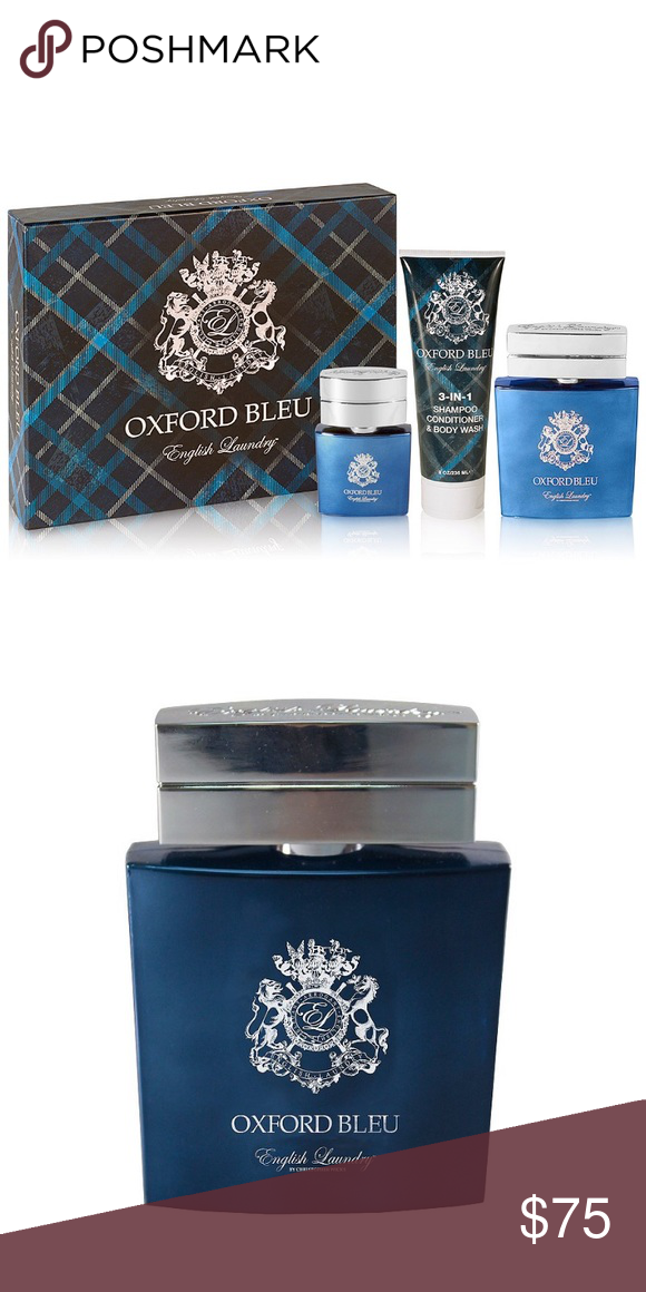 English Laundry Oxford Bleu Men S Fragrance Set Men S English