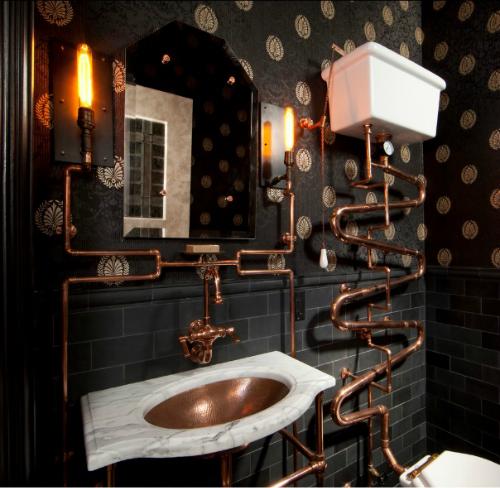 In A Funk Go Steampunk Interior Design Ideas Inspiration
