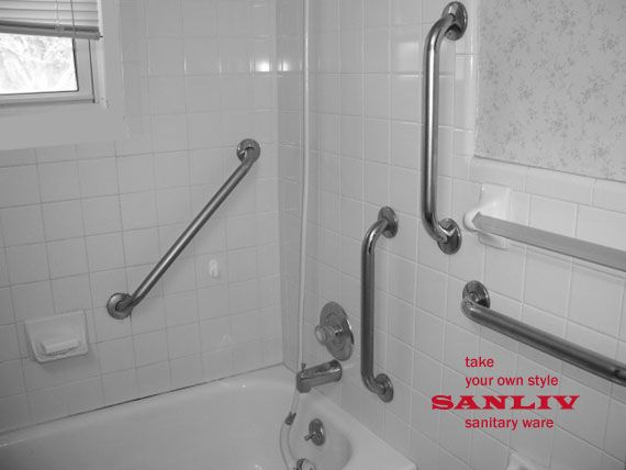 Ada Grab Bars For Bathrooms Bathroom How To Install Handicap Rails Or