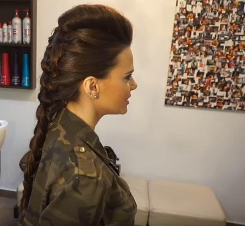 De moda peinados de rockera Fotos de cortes de pelo tutoriales - peinados rockeros Trenza Rockabilly   Peinados rockeros ...