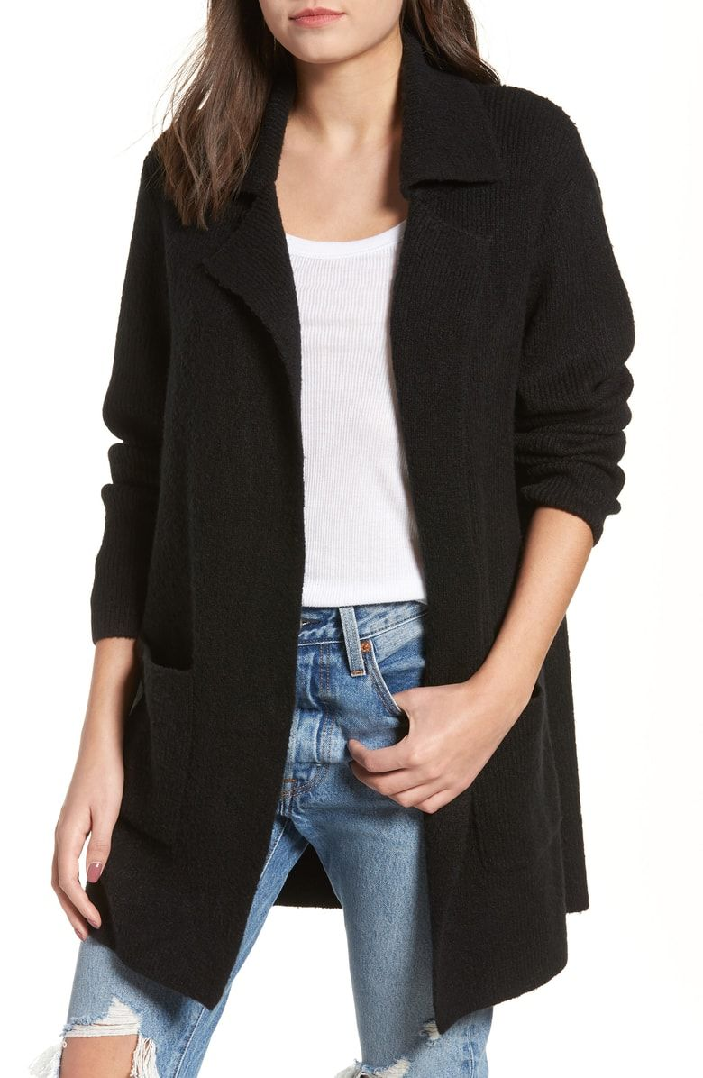 220c1dab8e2f4 Free shipping and returns on BP. Knit Sweater Coat at Nordstrom.com.   p Dropped shoulders and open-front styling bring comfortable ease to an  oversized ...