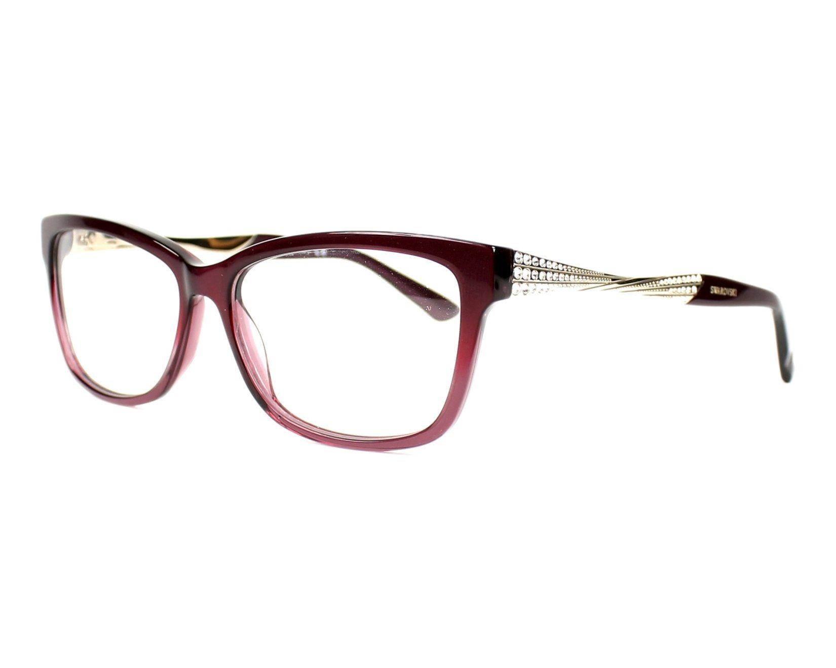 4cef050250 eyeglasses Swarovski SW-5145 071 54-14 Lila Silver profile view ...