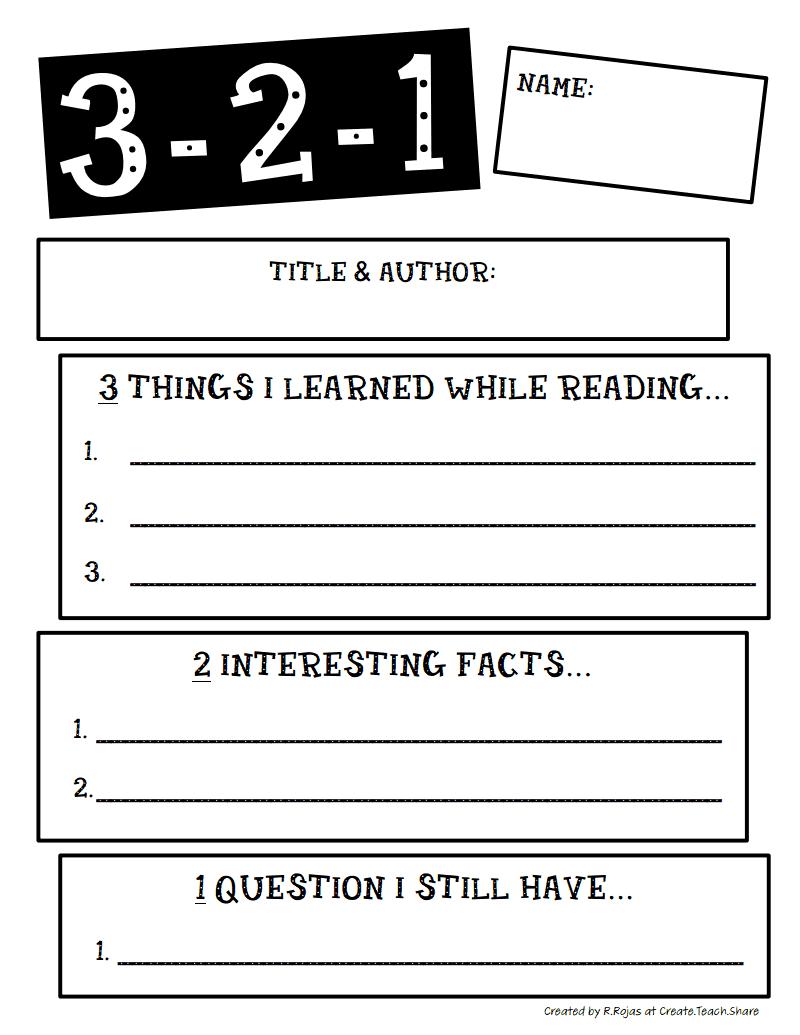 3 2 1 Pdf Google Drive Teaching Nonfiction Reading Lessons
