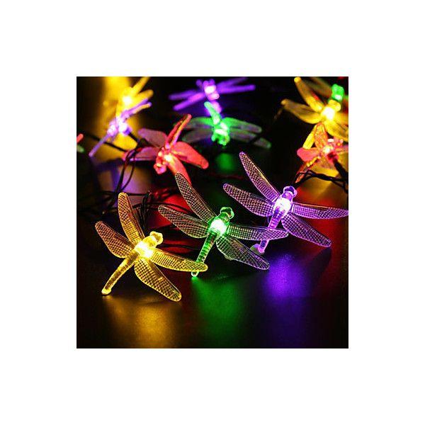 Wish outdoor solar led string light 5m 20 led dragonfly solar wish outdoor solar led string light 5m 20 led dragonfly solar panel str mozeypictures Choice Image