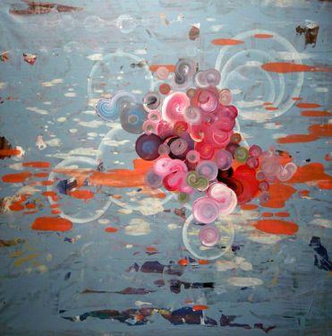 "Saatchi Online Artist Greg Rivera; Painting, ""Aztec Buddha"" #art"