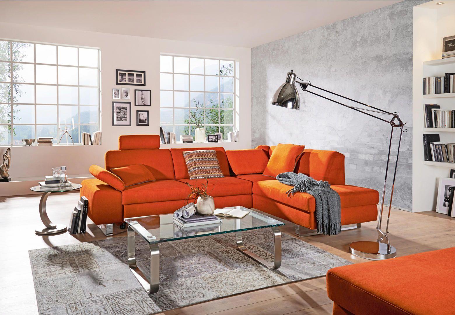 Wohnlandschaft Orange Sofas Couches Pinterest Couch Und Sofa