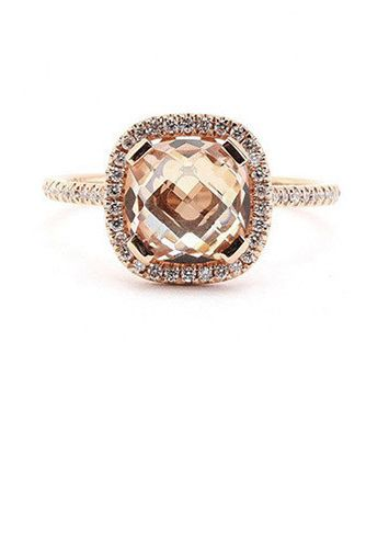 25 Cushion-Cut Engagement Rings to Swoon Over