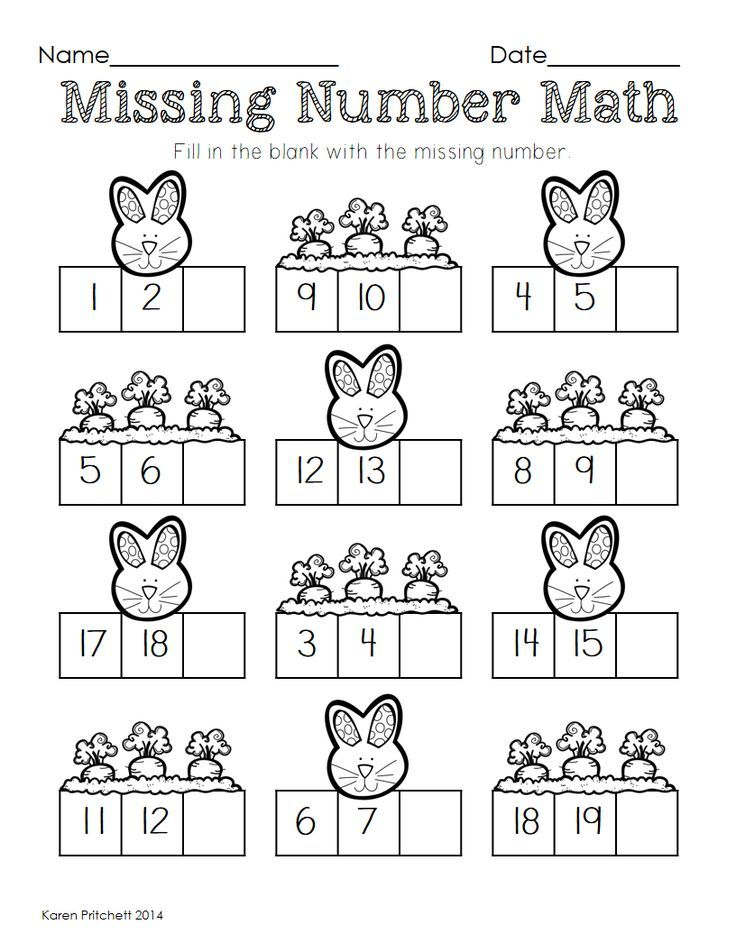 Image result for spring number activities Easter math