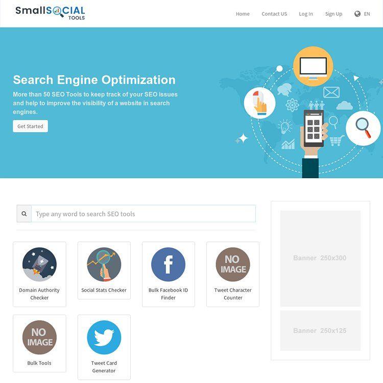 Small Social SEO Tools Free SEO tools backlink