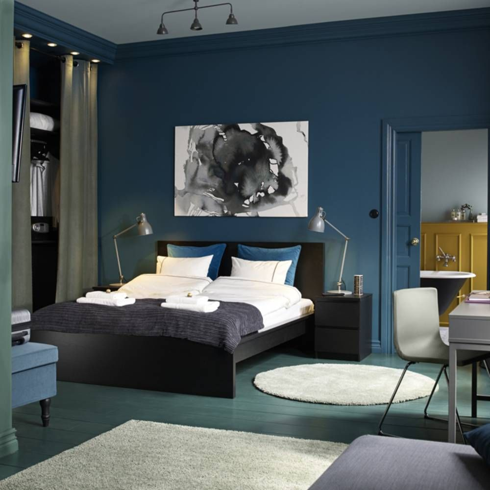 le bleu roi de nos int rieurs jolie d co pinterest. Black Bedroom Furniture Sets. Home Design Ideas