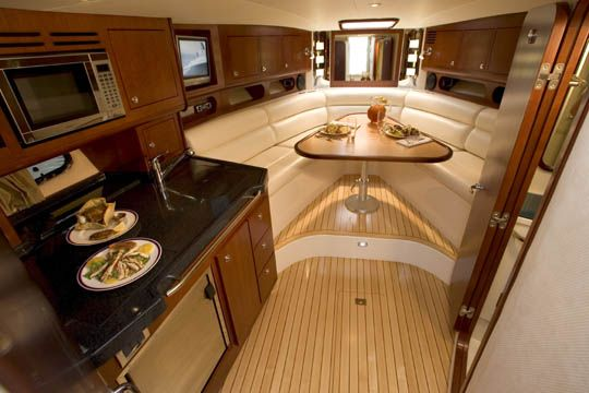 Chris Craft Motor Yacht Galley - Google Search