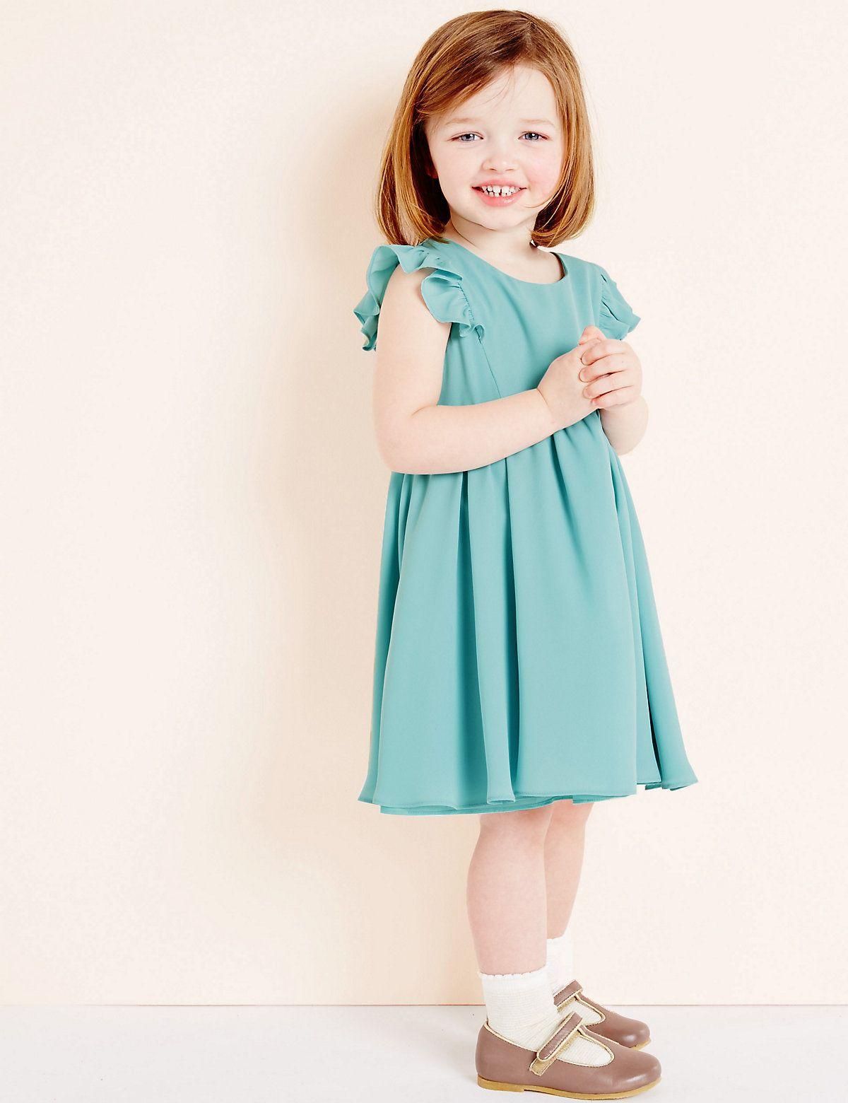 Girls Woven Party Dress (3 Months - 5 Years) | Dress designs | Pinterest