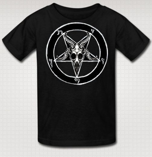 Baphomet kids T by StuffoftheDead on Etsy