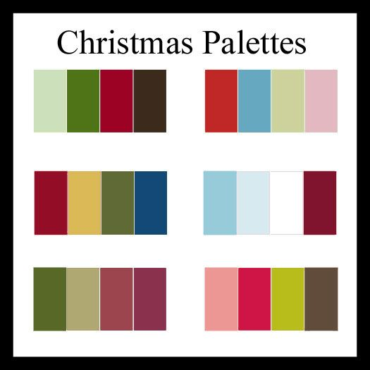 christmas colors Christmas Color Palettes to Kick Off the Season